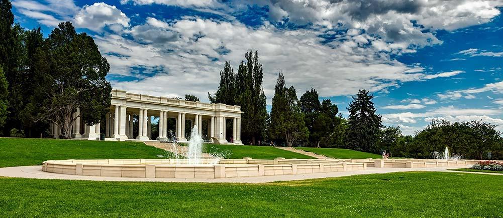 Congress Park in Denver, CO
