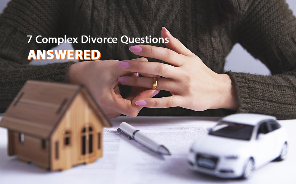 Answers to complex questions about divorce in Colorado.
