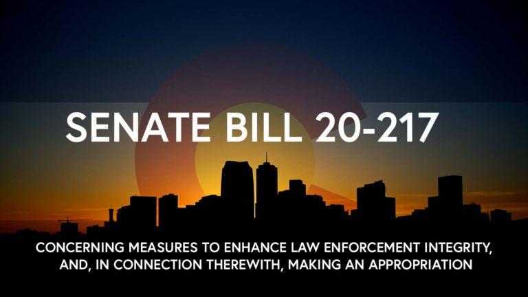 Colorado Senate Bill 20-217