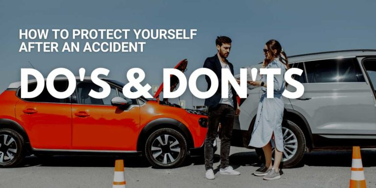 How to Protect Yourself After an Accident - DO's and DON'TS