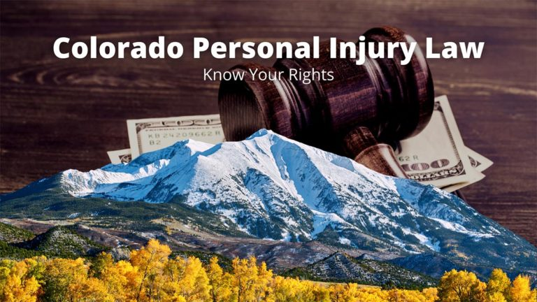 Colorado Personal Injury Law: Know Your Rights