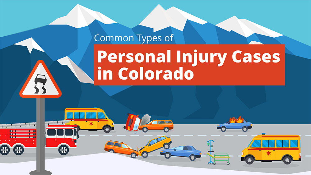 Common types of personal injury cases in Colorado