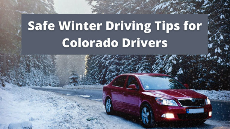 5 Safe Winter Driving Tips for Drivers in Colorado